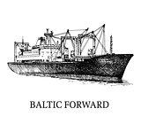 Cargo ship, reefer Baltic Forward