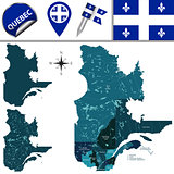 Regions of Quebec, Canada