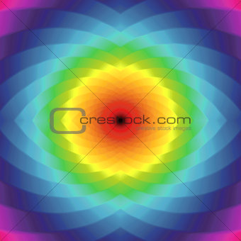 Abstract seamless geometric colorful rotated pattern