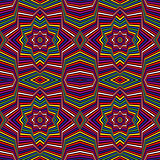 Abstract geometric multicolor pattern