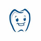 Cartoon Tooth Icon