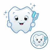 Cartoon Baby Tooth