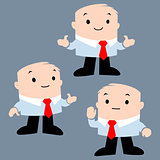 Cartoon Office Character