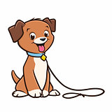 Cartoon Dog Puppy