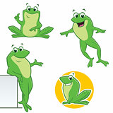 Cartoon Frogs