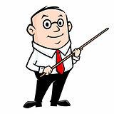 Cartoon Teacher