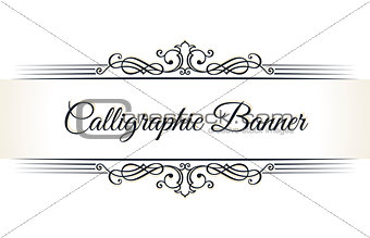 Calligraphic restaurant menu. Vintage ornament vector book template. Retro greeting card border, wedding invitations design, place for text