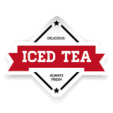 Ice Tea vintage sign