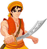 Aladdin and Wonderful Saber