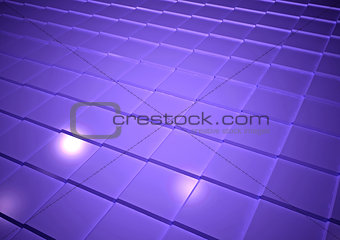 Abstract geometric background. 3D rendering.
