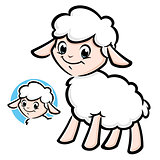 Cartoon Cute Lamb