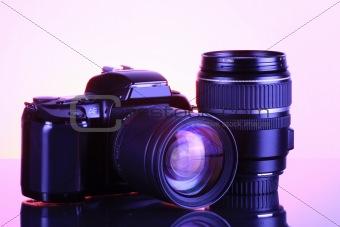 SKLR Camera and lens