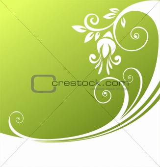 green curl pattern