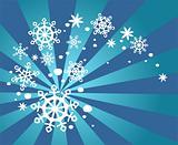 snow whirlwind
