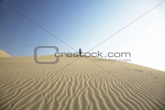 top of the dune