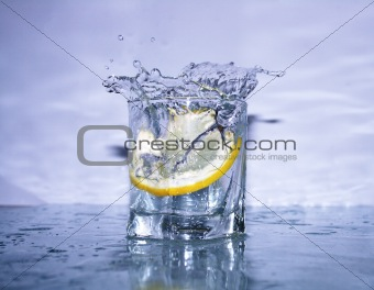 Splashing Fresh Lemonade