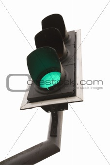 British Traffic light on Green