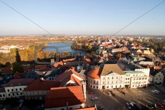Czech Tabor Cityscape