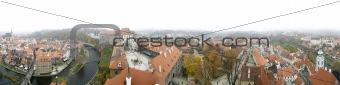 Czech City Panorama