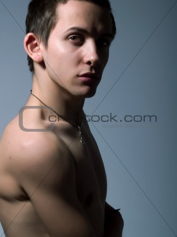Attractive young man