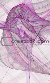 abstract purple cross