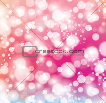 Abstract background with color sparkles.