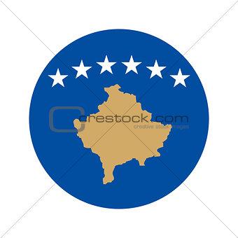 Circular world Flag