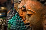 buddha smiling statue