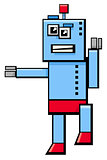 robot cartoon fantasy character