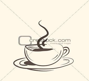 Cup ,mug, of hot drink ,coffee, tea etc.