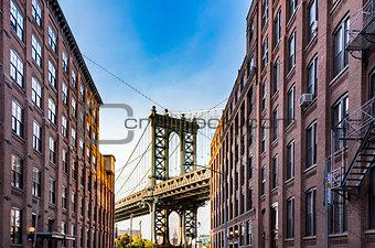 Manhattan Bridge Empire State
