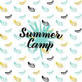 Summer Camp Postcard Design