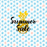 Summer Sale Card Design