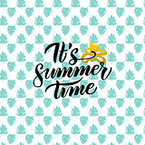 Summer Time Handwritten Design