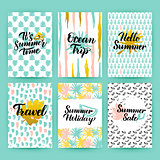 Summer Time Trendy Posters