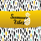Summer Vibes Hand Drawn Design