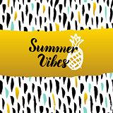 Summer Vibes Hand Drawn Design