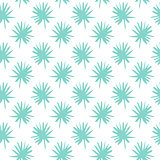 Palm Leaf Brush Seamless Pattern