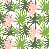 Palm Tropic Seamless Pattern