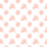 Palm Tree Leaf Seamless Pattern