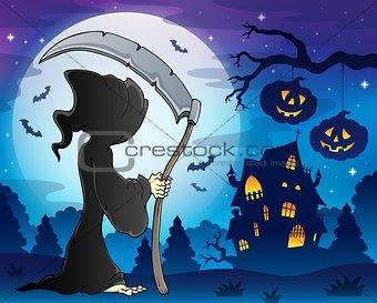 Grim reaper theme image 9