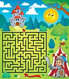 Maze 3 with knight theme