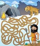 Maze 31 with prehistoric thematics