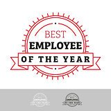 Employee of the Year vintage sign