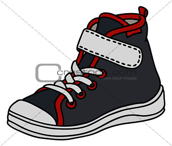 Black children sneaker