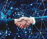Concept of internet handshake over internet network