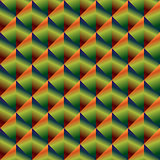 Geometric seamless pattern with gradient