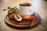 Beet soup borscht