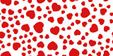 seamless decorative hearts