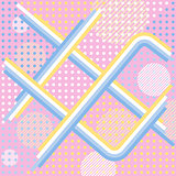Abstract pink retro vector background